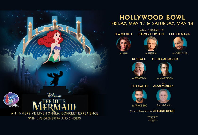 Hollywood Bowl - The Little Mermaid An Immersive Live-to-Film Concert Experience